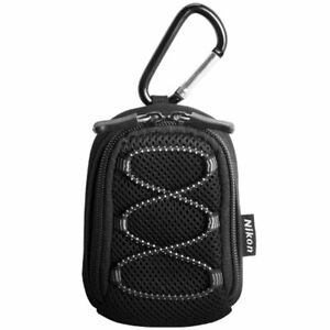 New Nikon All Weather Sport Camera Case Pouch with Carabiner