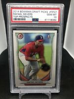 2014 Bowman RAFAEL DEVERS Rookie RC Top Prospects 1st GEM MINT PSA 10 #TP37