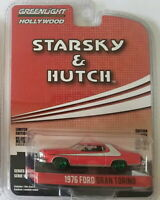 "Greenlight ""Starsky & Hutch"" 1976 Ford Gran Torino 1/64 Diecast Chase Car 44780A"