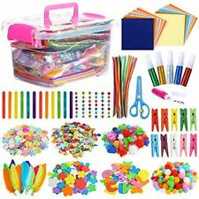 Arts and Crafts Supplies for Kids- Over 1000 Pieces, Colorful, Creative