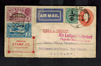 1930 Allahabad India Airmail Cover  to Solingen Germany