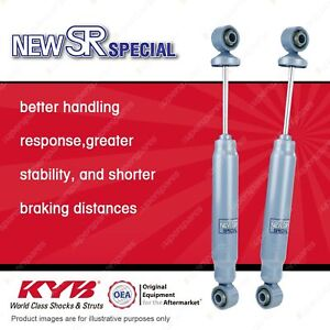 2 x Rear KYB New SR Special Shock Absorbers for Nissan Elgrand E50 RWD Wagon