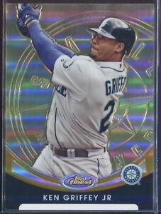 2010 Finest Refractor Gold #65 Ken Griffey Jr. 01/50 *First One*