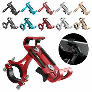 Aluminum Motorcycle Bike Bicycle GPS Cell Phone Holder Handlebar Mount Universal
