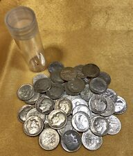 1 Roll (50) 90% Silver Roosevelt Dimes Coin Lot Circulated