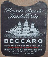 ETICHETTA VINO WINE VINO MOSCATO PASSITO PANTELLERIA SICILIA SICILY LABEL LABELS