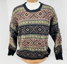 Frank Stella Ltd Vintage Mens Sweater Size Large 100% Wool