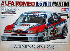 KIT ALFA ROMEO 155 V6 TI MARTINI 1/24 TAMIYA 24176 LARINI NANNINI