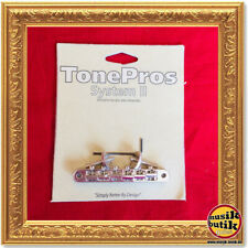 TonePros Parts Tune-O-Matic - ABR-1 / Vintage & Reissued USA / Nickel TPAVR2N