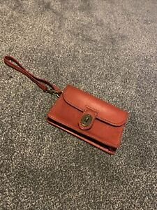 Fossil Red Purse Wallet Leather
