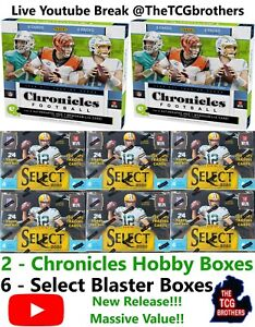 Seattle Seahawks Break #334 Chronicles Hobby Box Select Blaster 2020 Team