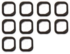 10x Replacement Rubber Gasket Home Button Holder Adhesive Sticker iPhone 5S OEM