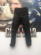 Guerra Civil Hot Toys Soldado del Invierno Pantalones Sueltos 1/6th escala MMS351 Negro