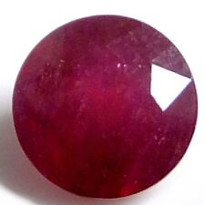 Excellent Cut Round Translucent Loose Natural Rubies