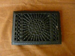 Antique Cast Iron Floor Register 12 x 8