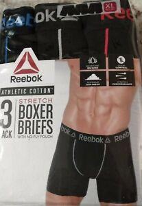 Pick SZ//Color. Reebok Underwear Mens 3 Pack T-Shirt L