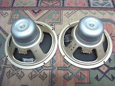 """12"""" Celestion Alnico Bulldog T1088 Pulsonic Cones Vox AC30 Silver Bulldog's 1970"""