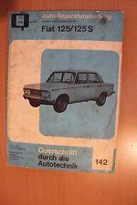 Fiat 125  Reparaturanleitung Handbuch