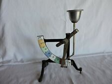 Vintage European Metal Egg Scale Weighing Grading Instrument in Grams