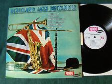 DIXIELAND JAZZ BRITANNIA - LP 1963 French pressing PYE MODE DISQUES MDINT 9202