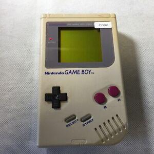 P13601 Nintendo Gameboy original DMG-01 Grey console Japan GB Express x