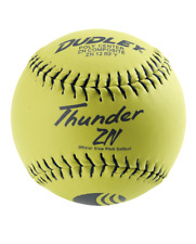 Dudley Thunder ZN Classic-M Stamp 12″ USSSA 40/325 Slowpitch Softball (1 Dozen)