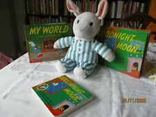 Goodnight Moon books, plush by Kohl's Cares one boardbook