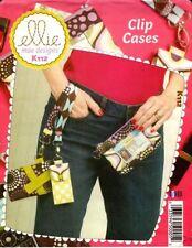 Kwik Sew Sewing Pattern K112 112 Clip Cases Bags Purses
