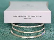 Avon Perfect Horizon 3Pc. Bangle Set - Silvertone