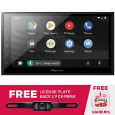"New listing Pioneer Dmh-2600Nex 6.8"" Mechless Digital Media Receiver & License Plate Cam"
