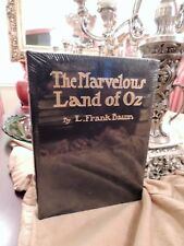 THE MARVELOUS LAND OF OZ  Easton Press ILLUSTRATED RARE NEW SEALED