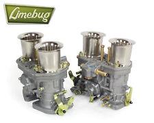 Twin Genuine Weber 44 IDF Carburetor Performance Carb VW Beetle Ghia Volkswagen