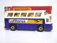 Matchbox Lesney No.65e Airport Coach Type K Box (LUFTHANSA, RARE CLEAR WINDOWS)