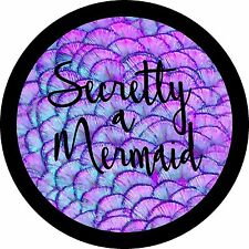 Secretly a Mermaid Jeep Wrangler Liberty RV Spare Tire Cover