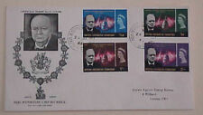 BRITISH ANTARCTIC TERRITORY FDC CHURCHILL CACHET 1966