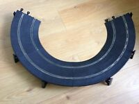 Scalextric Classic Track Banked Curves C187 & 6 Bridge Supports