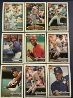 1991 Topps NEW YORK YANKEES Complete Team Set 32 MATTINGLY, MAAS, KELLY MINT !