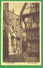 Gö 2. Niedersachsen Hannover Potthofstraße um 1913? Idylle pur Strassenkarte