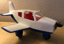 Vintage Walled Lake Gay Toys Inc. Toy Airplane Red White Blue Item No. 870