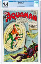 Aquaman #4 CGC 9.4 DC 1963 JLA Justice League! Key Silver Age! L9 213 cm