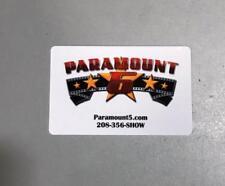 GIFT CARD $25.00 Paramount 5 Movie Theater Rexburg ID Idaho by Yellowstone Park