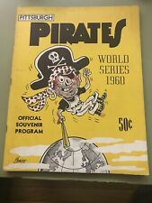 Pittsburgh Pirates World Series 1960 Official Souvenir Program