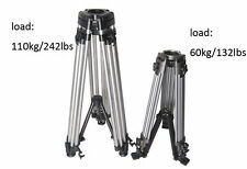 load 110kilo /242 lbs Video Heavy Tripod for Camcorder Camera Jib Arm Crane