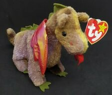 Ty Beanie Baby 4210 Scorch The Dragon 1998