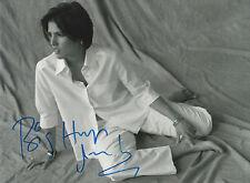 Tanita Tikaram Autogramm signed 20x30 cm Bild s/w