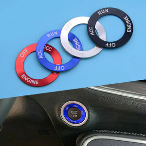 Engine Start Stop Button Ignition Switch Frame Cover Fit for Dodge Challenger