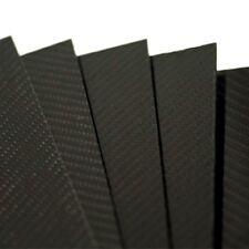 PLANCHA DE FIBRA DE CARBONO 4mm TWILL Gloss 2/2 500x400mm