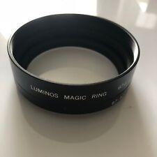 GENUINE ORIGINAL LUMINOS MAGIC RING 67MM 67 - 62MM  LENS HOOD STEP RING #104