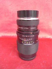 Lens: Porst Tele MO 1:2.8 __ 135mm, Car D.55 , No.79000_