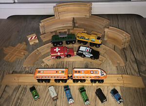 Thomas the Train Wooden Railway Brio Trains Track Switch Lot